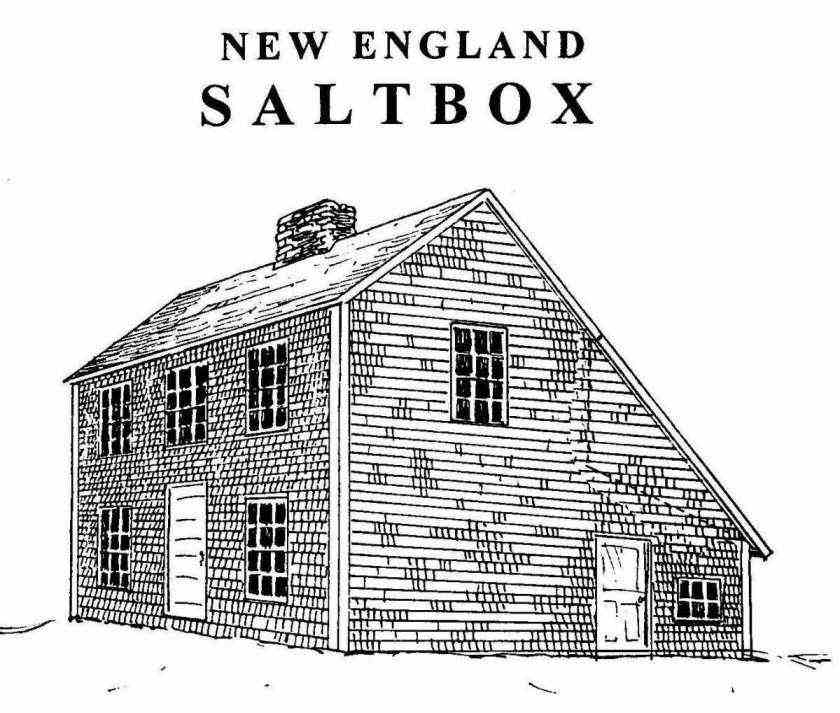 Saltbox House Plans Saltbox House Plans Free Post Beam
