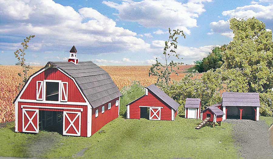 N kits for Farmhouse building kits